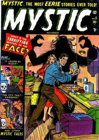 Cover Thumbnail for Mystic (Marvel, 1951 series) #5