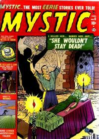 Cover Thumbnail for Mystic (Marvel, 1951 series) #6