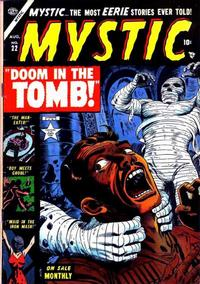 Cover Thumbnail for Mystic (Marvel, 1951 series) #22