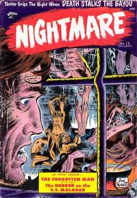 Cover Thumbnail for Nightmare (St. John, 1953 series) #12