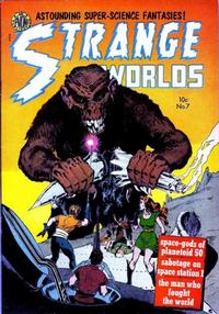Cover Thumbnail for Strange Worlds (Avon, 1950 series) #7