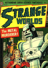 Cover Thumbnail for Strange Worlds (Avon, 1950 series) #8