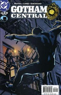 Cover Thumbnail for Gotham Central (DC, 2003 series) #23
