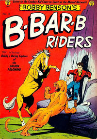 Cover Thumbnail for Bobby Benson&#39;s B-Bar-B Riders (Magazine Enterprises, 1950 series) #3