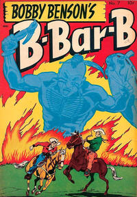 Cover Thumbnail for Bobby Benson's B-Bar-B Riders (Magazine Enterprises, 1950 series) #7