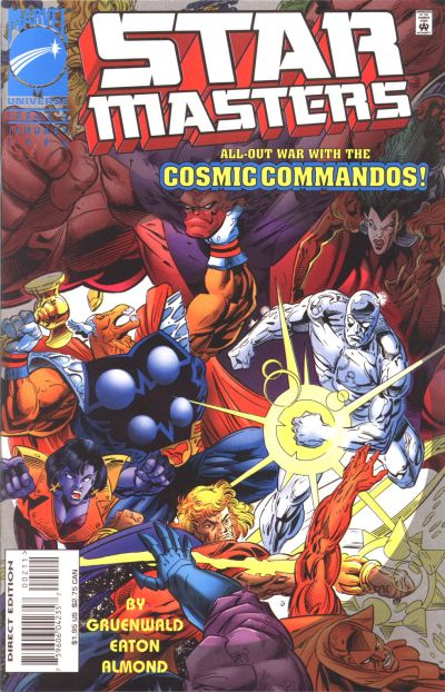 Cover for Starmasters (Marvel, 1995 series) #2