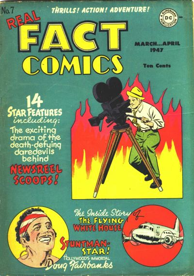 Cover for Real Fact Comics (DC, 1946 series) #7
