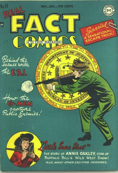 Cover for Real Fact Comics (1946 series) #11