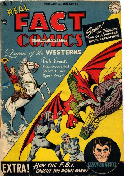 Cover for Real Fact Comics (DC, 1946 series) #13
