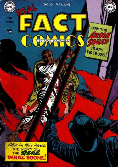 Cover for Real Fact Comics (DC, 1946 series) #20