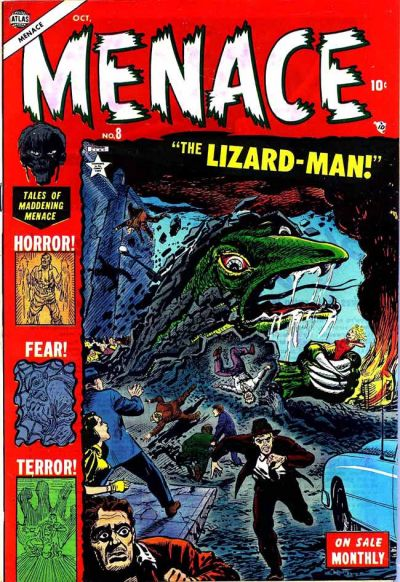 Cover for Menace (1953 series) #8