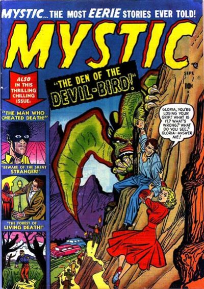 Cover for Mystic (Marvel, 1951 series) #4