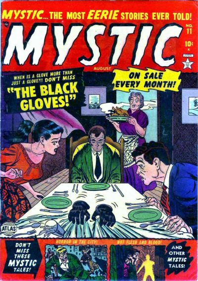 Cover for Mystic (Marvel, 1951 series) #11