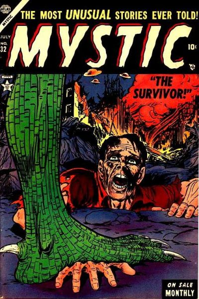 Cover for Mystic (1951 series) #32