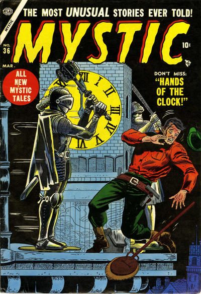 Cover for Mystic (Marvel, 1951 series) #36