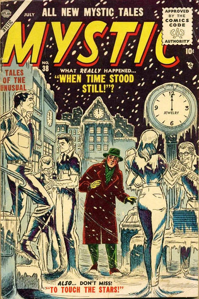 Cover for Mystic (Marvel, 1951 series) #38