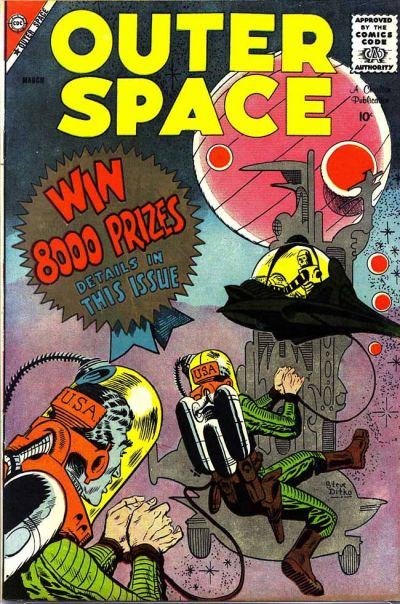Cover for Outer Space (Charlton, 1958 series) #21