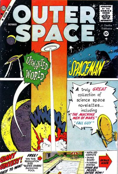 Cover for Outer Space (Charlton, 1958 series) #24