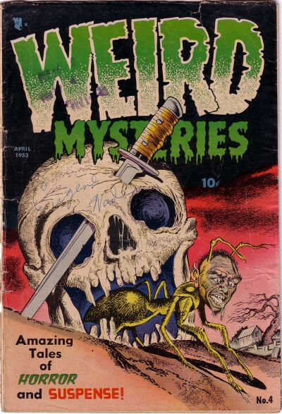 Cover for Weird Mysteries (1952 series) #4