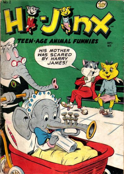 Cover for Hi-Jinx (American Comics Group, 1947 series) #2