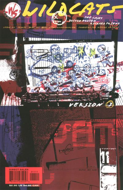 Cover for Wildcats Version 3.0 (DC, 2002 series) #11