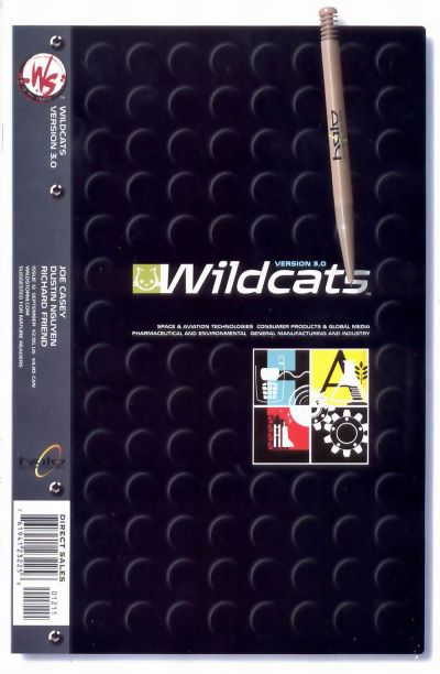 Cover for Wildcats Version 3.0 (DC, 2002 series) #12