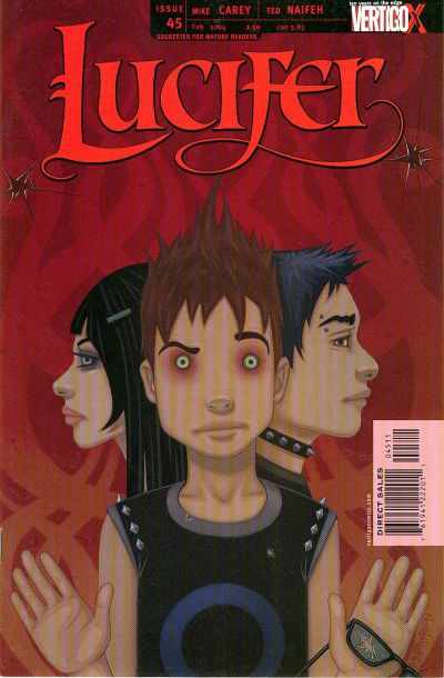 Cover for Lucifer (DC, 2000 series) #45