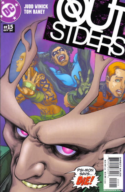 Cover for Outsiders (DC, 2003 series) #15