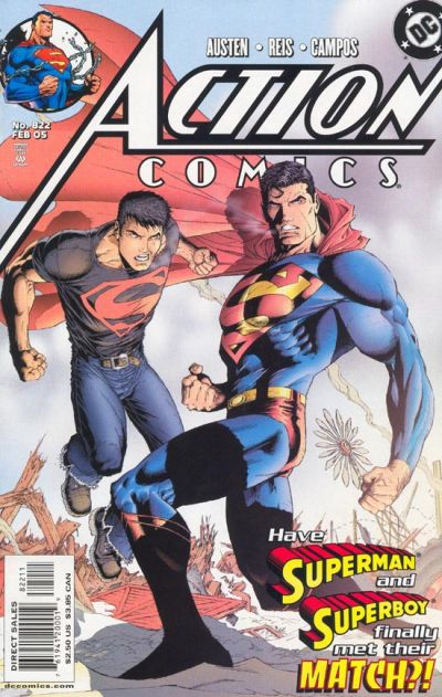 Cover for Action Comics (DC, 1938 series) #822