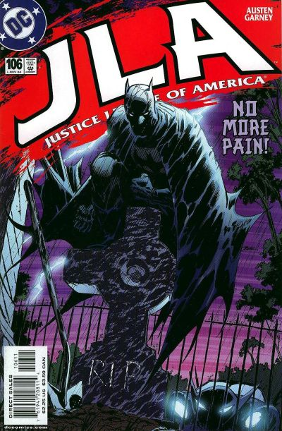 Cover for JLA (1997 series) #106