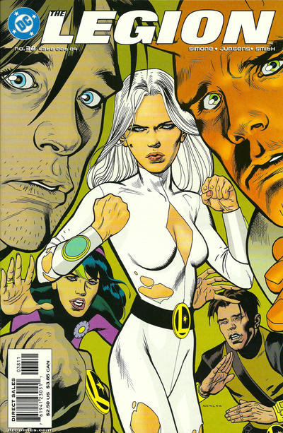 Cover for The Legion (DC, 2001 series) #38