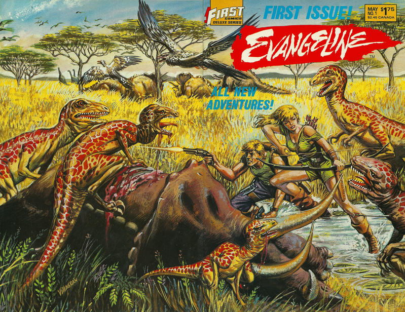 Cover for Evangeline (First, 1987 series) #1