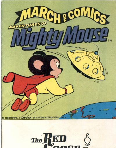 Cover for March of Comics (1946 series) #459 [non-ad cover]