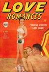 Cover for Love Romances (Marvel, 1949 series) #9