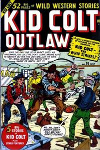 Cover Thumbnail for Kid Colt Outlaw (Marvel, 1949 series) #10