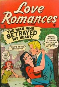 Cover Thumbnail for Love Romances (Marvel, 1949 series) #13