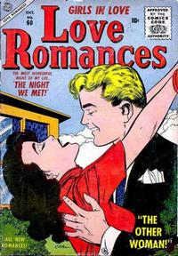 Cover for Love Romances (Marvel, 1949 series) #60