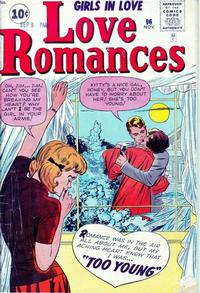 Cover Thumbnail for Love Romances (Marvel, 1949 series) #96