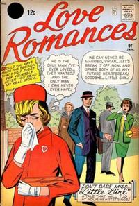 Cover Thumbnail for Love Romances (Marvel, 1949 series) #97 [Black Circle Price Field]