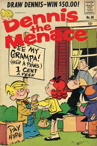 Cover Thumbnail for Dennis the Menace (Hallden; Fawcett, 1959 series) #88