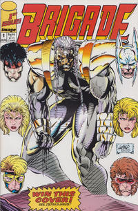 Cover Thumbnail for Brigade (Image, 1992 series) #1 [Direct Edition]