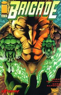 Cover Thumbnail for Brigade (Image, 1993 series) #5 [Direct Edition]