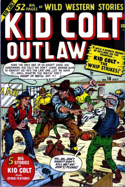 Cover for Kid Colt Outlaw (Marvel, 1949 series) #10