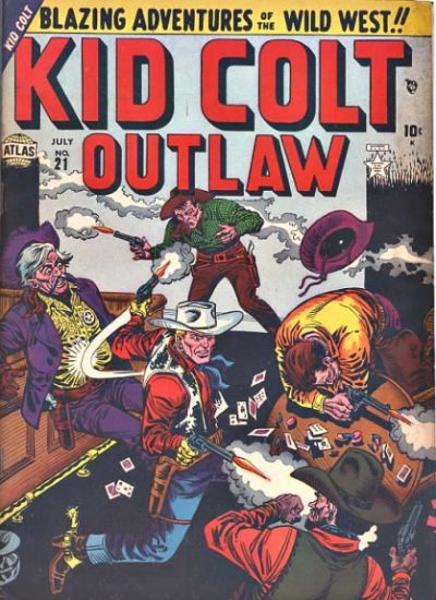 Cover for Kid Colt Outlaw (Marvel, 1949 series) #21