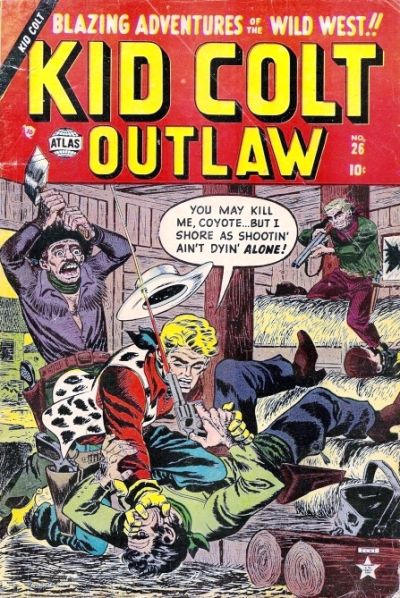 Cover for Kid Colt Outlaw (Marvel, 1949 series) #26