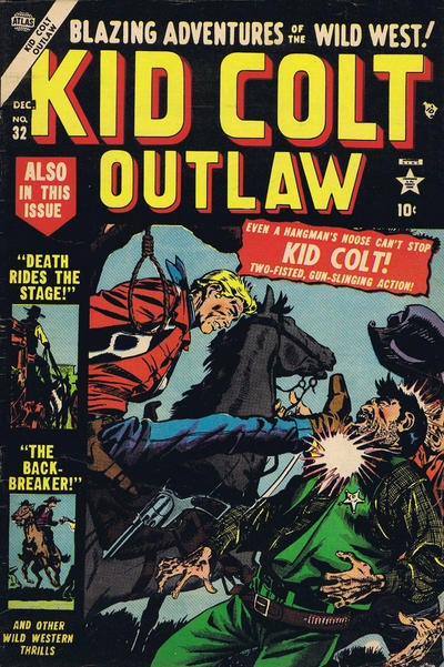 Cover for Kid Colt Outlaw (Marvel, 1949 series) #32