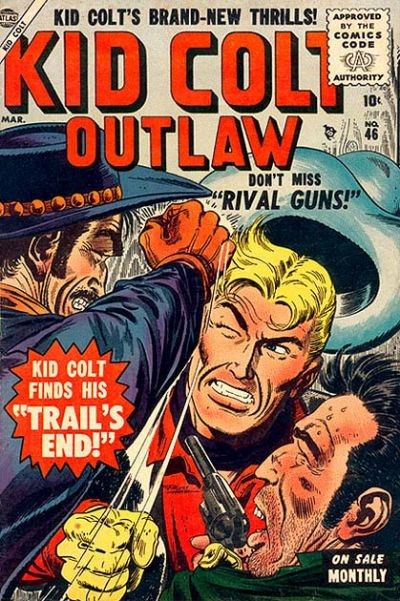 Cover for Kid Colt Outlaw (Marvel, 1949 series) #46