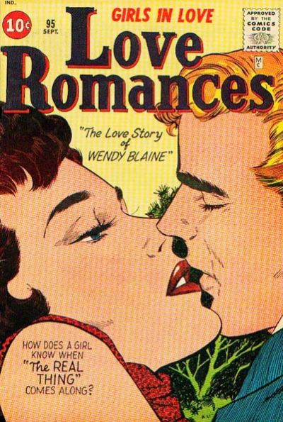 Cover for Love Romances (1949 series) #95