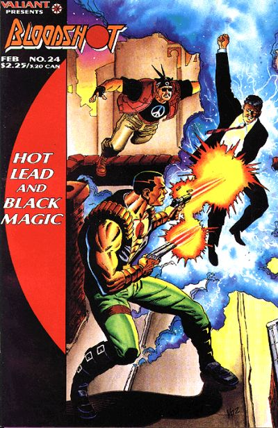 Cover for Bloodshot (Acclaim / Valiant, 1993 series) #24