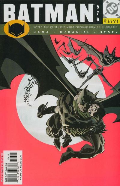 Cover for Batman (1940 series) #576